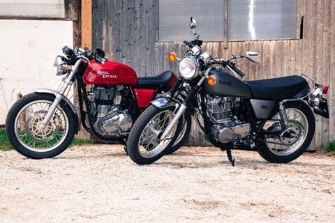 Royal Enfield Continental GT vs Yamaha SR400