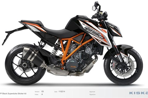 KTM Super Duke Kit
