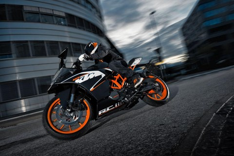 KTM RC125 Stuntvideo