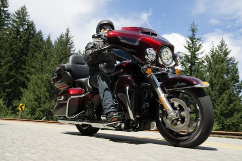 Harley E-Glide Low