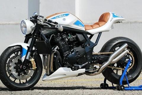 Suzuki FatMile Custombike auf Bandit Basis