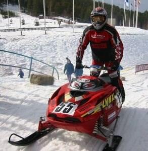 Bombardier/Rotax sponsert Snowcrossmeister