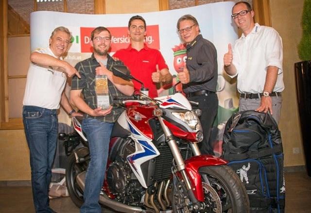 Österreich sicherster Motorradfahrer