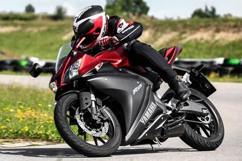 Yamaha YZF-R125 Test