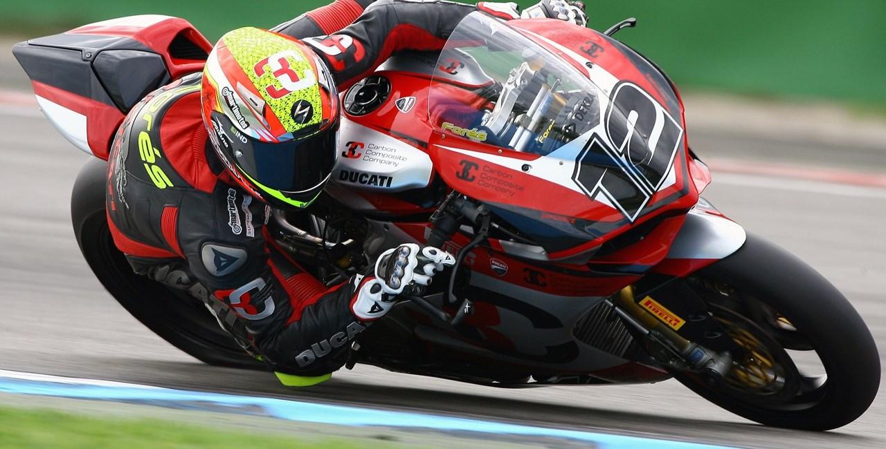 Xavi Fores IDM Superbike Meister 2014 auf Ducati