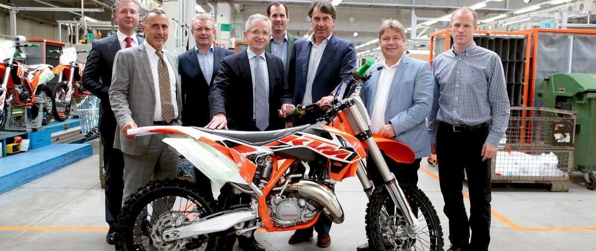 KTM: EIB-Darlehn für Forschungs- & Entwicklungsprojekte