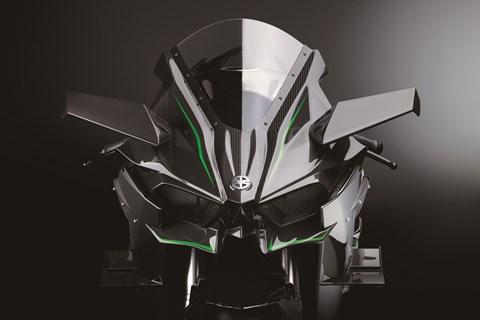 Kawasaki Ninja H2R 2015 Neuheit