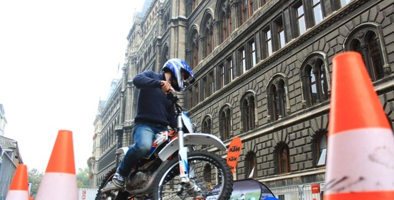 Safebike der Stadt Wien ein voller Erfolg