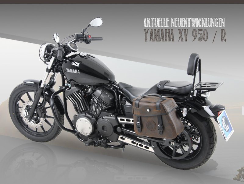 hepco becker zubeh r f r die yamaha xv 950 motorrad news. Black Bedroom Furniture Sets. Home Design Ideas