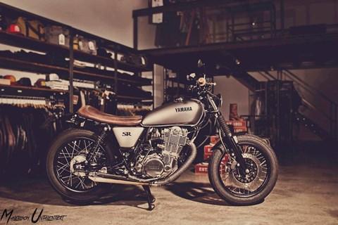 "Yamaha SR 400 ""Projekt LD"""