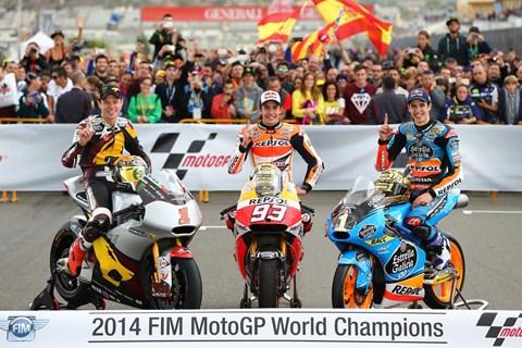 Marc und Alex holen sich den Weltmeistertitel 2014