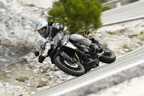Triumph Tiger 800 XRx 2015 Test