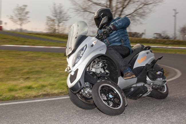 Piaggio MP3 500 ie LT im Test