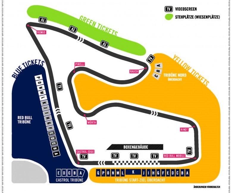 MotoGP Red Bull Ring Tickets