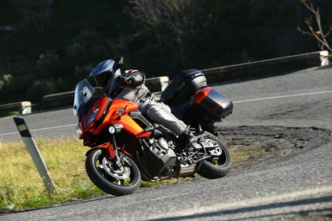 Kawasaki Versys 1000 2015 Test - mit Video!
