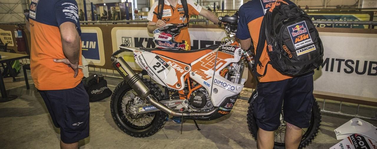 Dakar 2015 - Walkner startet stark