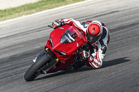 Ducati 1299 Panigale Test in Mugello