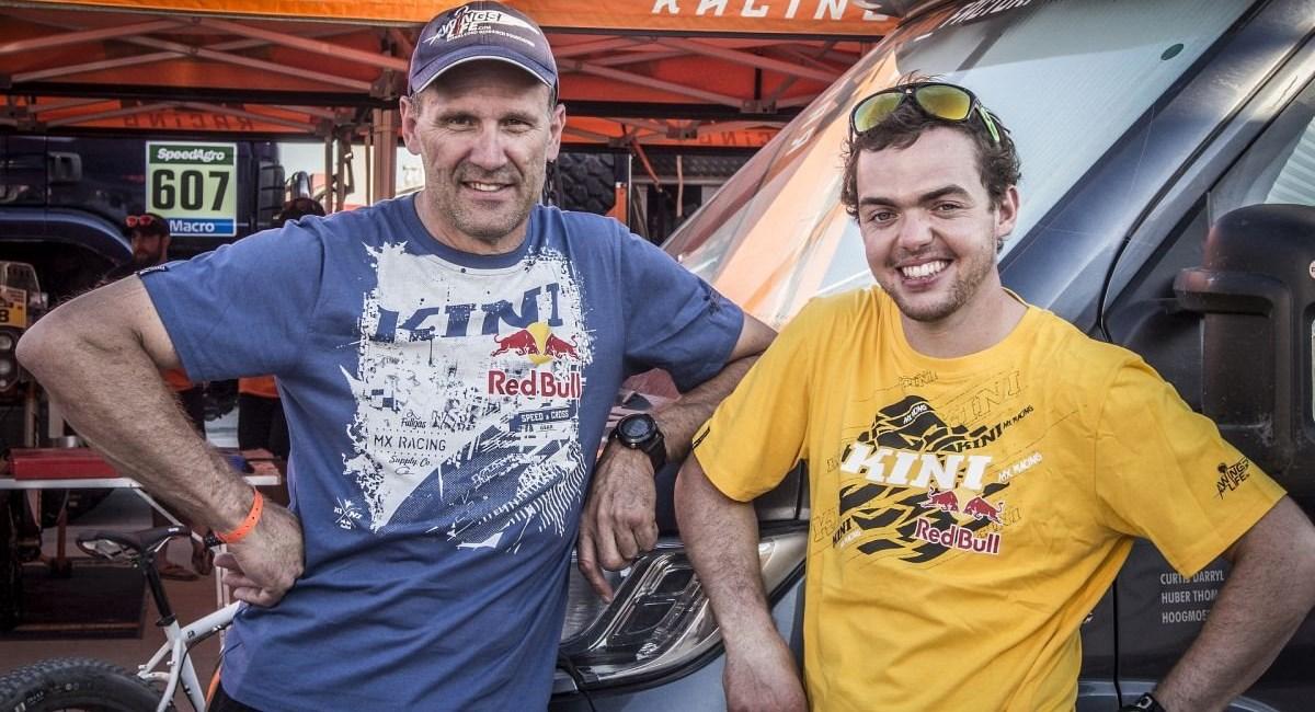 Finales Pressegespräch mit Walkner nach der Rally Dakar