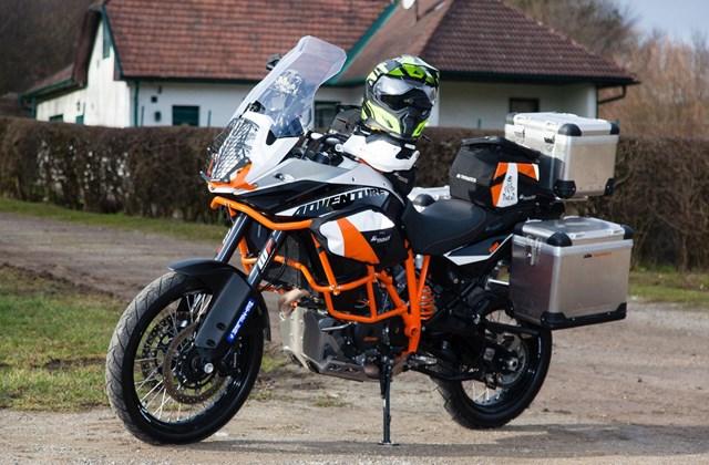 motorrad news touratech zubeh r f r ktm 1190 adventure r. Black Bedroom Furniture Sets. Home Design Ideas