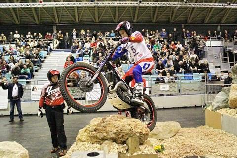 Hallentrial-WM Wiener Neustadt/Arena Nova im März 2015