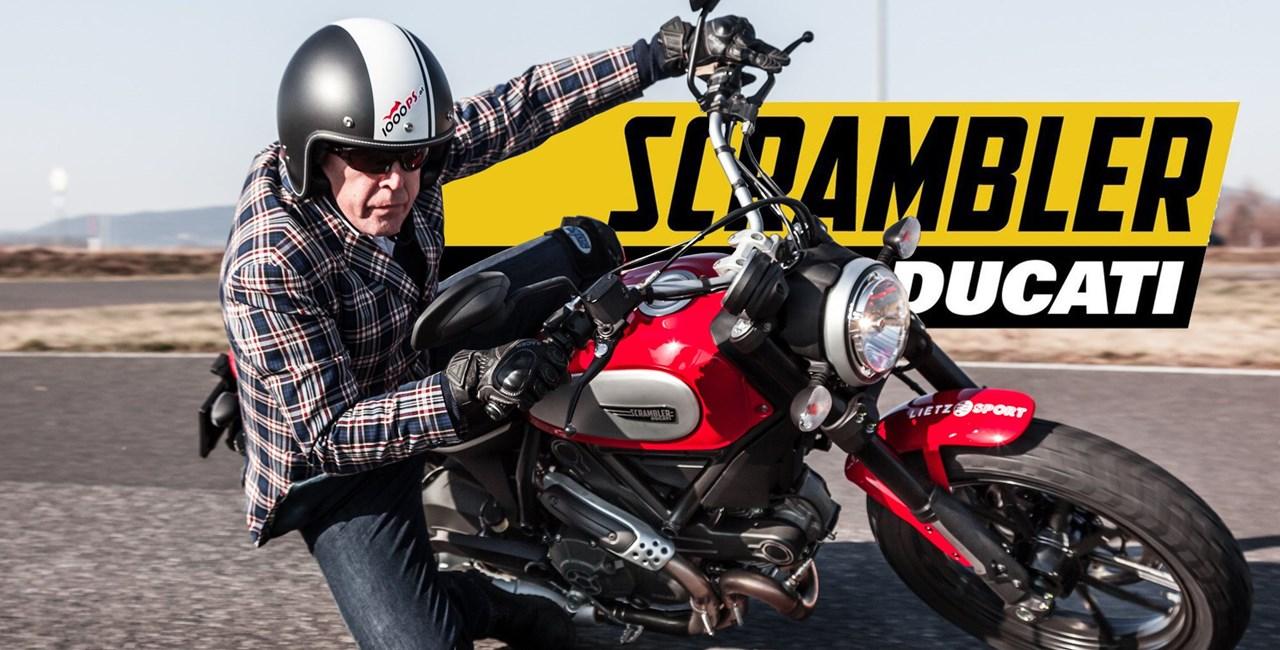 Ducati Scrambler Test 2015 - mit Zonko