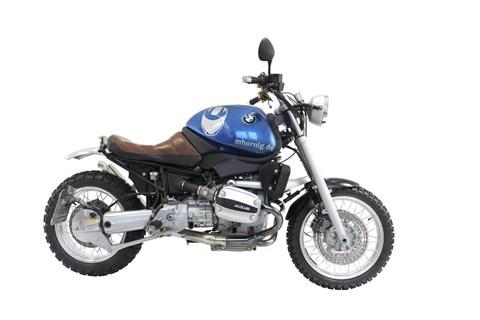 BMW R 1100 R Scrambler Umbau von Hornig