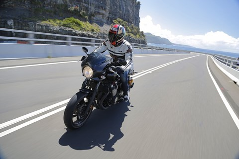 Yamaha XJR 1300 2015 Test
