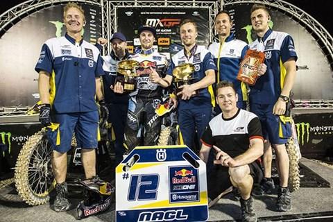 Max Nagl dominiert auf Husqvarna den MXGP Saisonauftakt