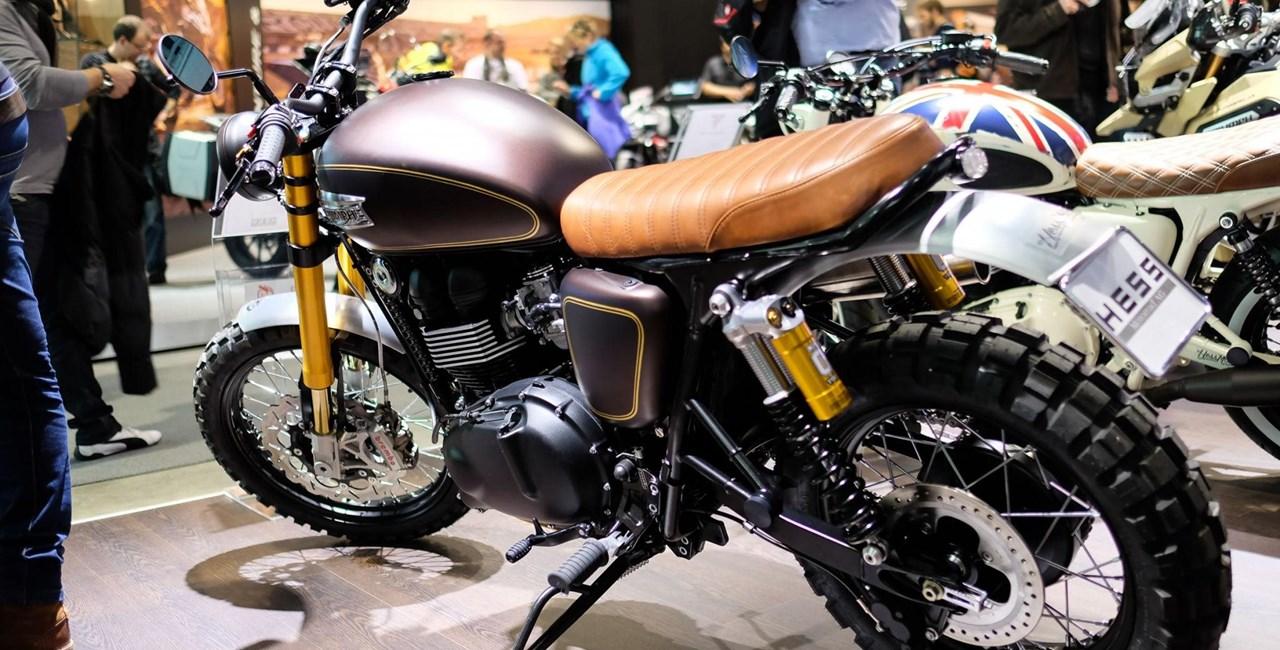 Hess Triumph-Umbauten auf der Swiss-Moto 2015