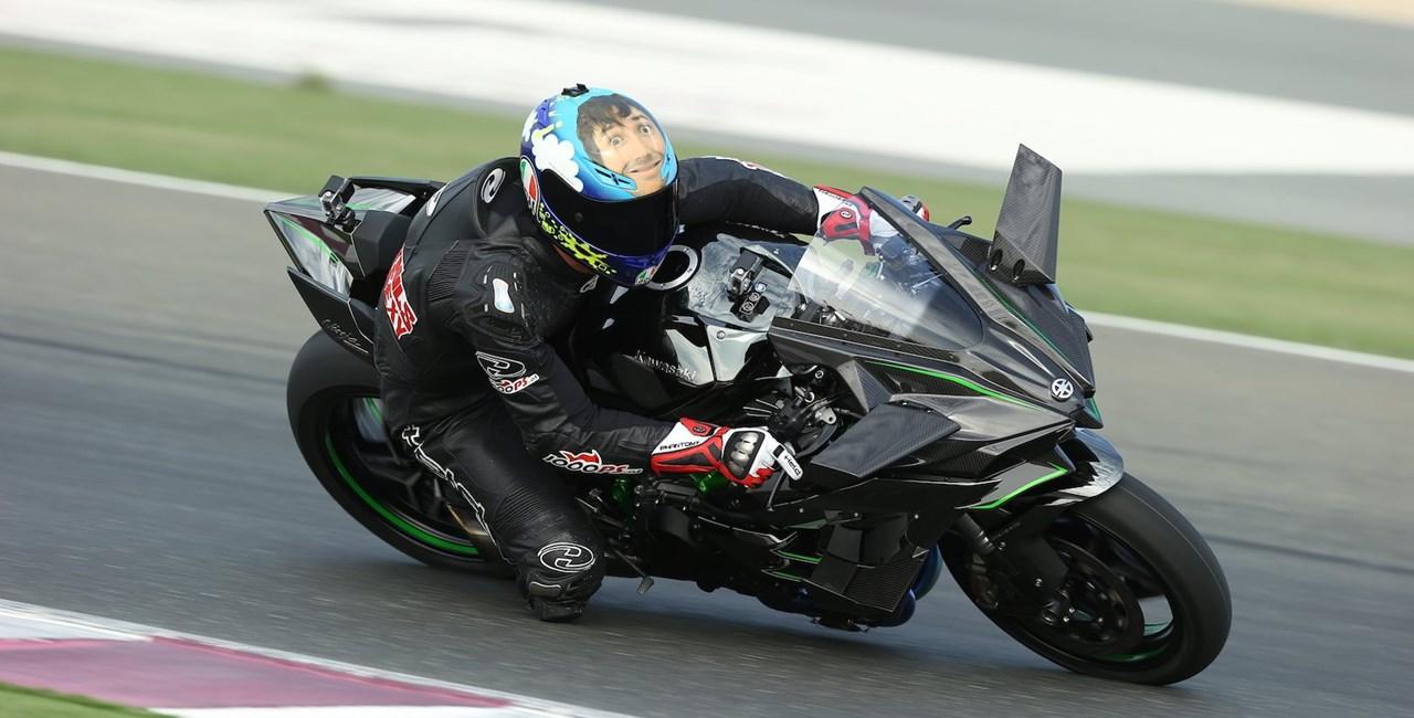 Kawasaki Ninja H2 R Test