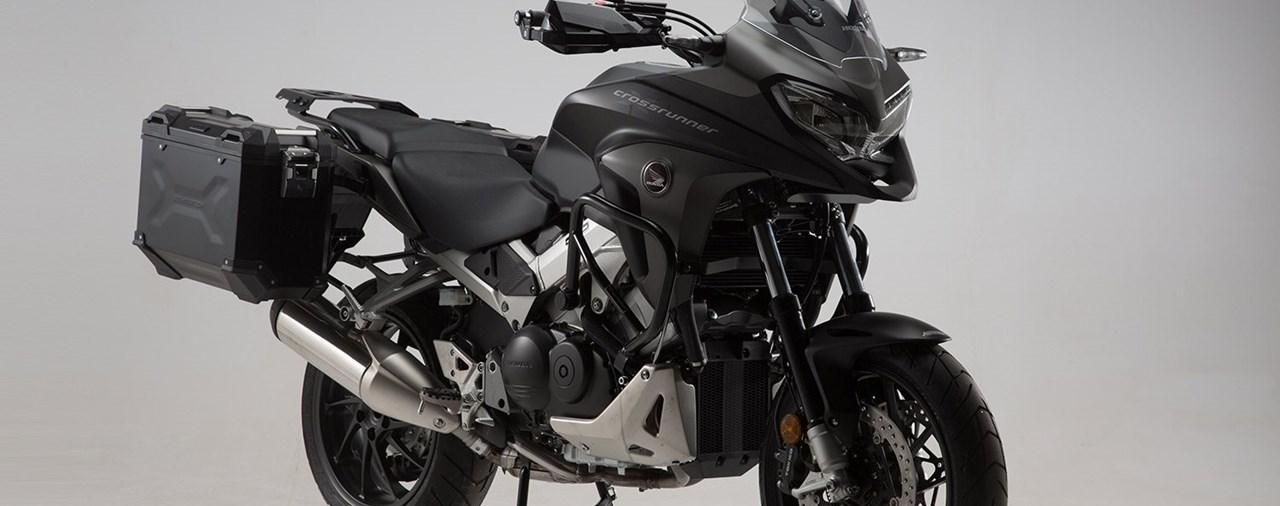 SW-MOTECH stattet Honda VFR 800 X Crossrunner aus