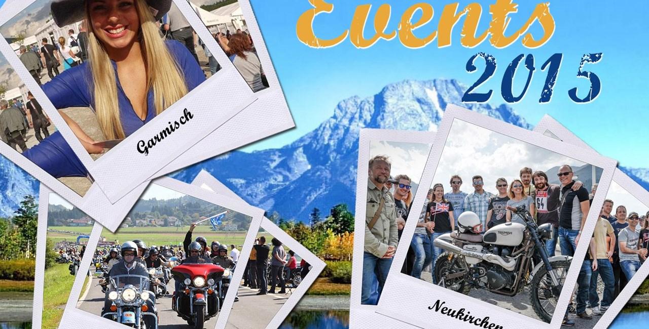 10 Top Motorrad-Events 2015