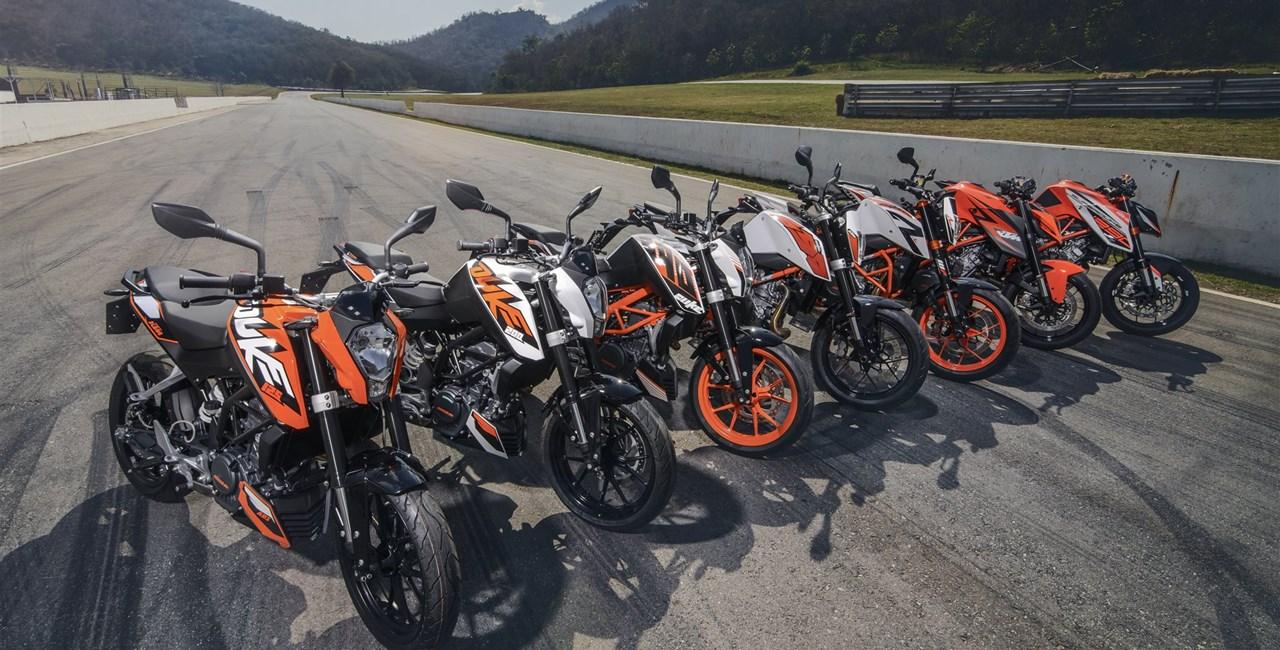 KTM Duke it! Test in Thailand 2015