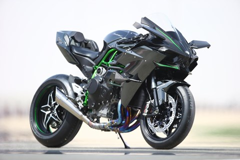 Kawasaki auf der Bike-Austria Tulln April 2015