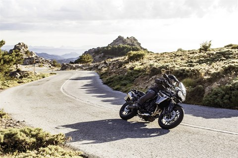 Triumph Bike Week 2015 in Andalusien
