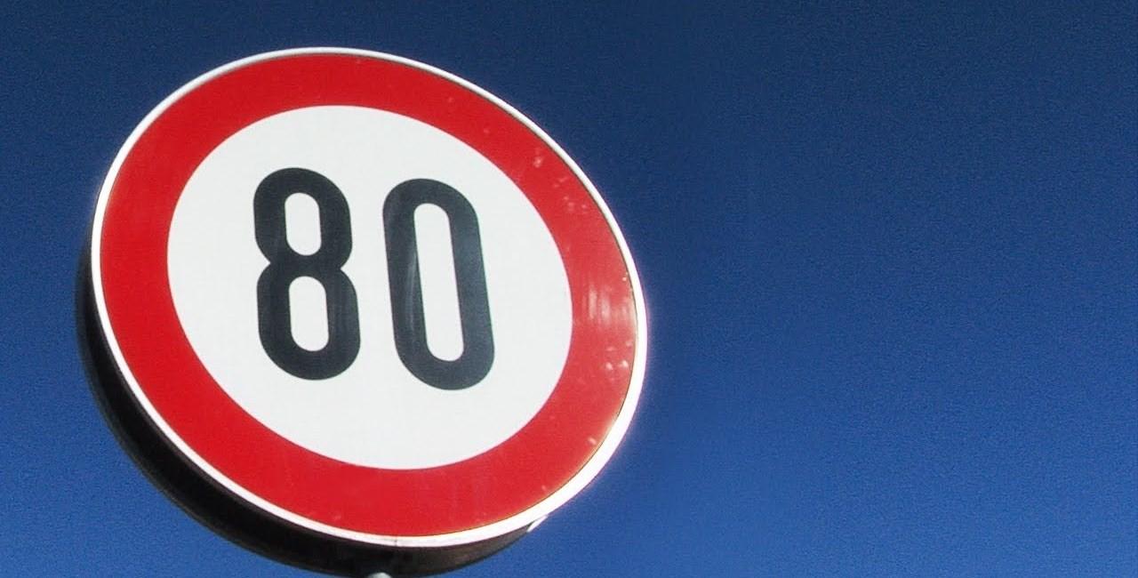 Tempo 80 und 100 für Motorräder