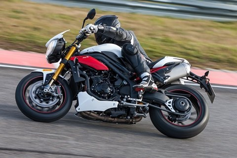 Speed Triple R bei 1000PS-Gripparty in Brünn