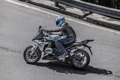 BMW R 1200 RS 2015 Test