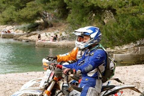 KRKA Enduro in Kroatien