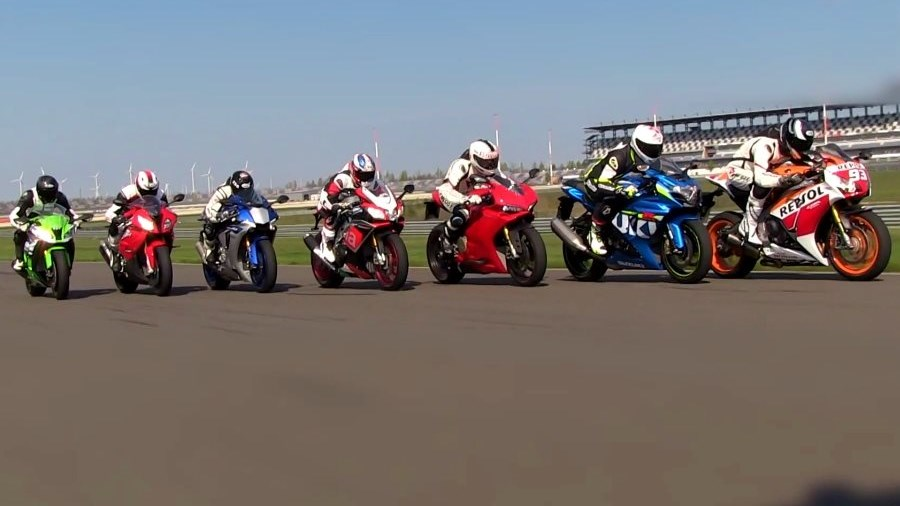 Superbike Vergleichstest 2015