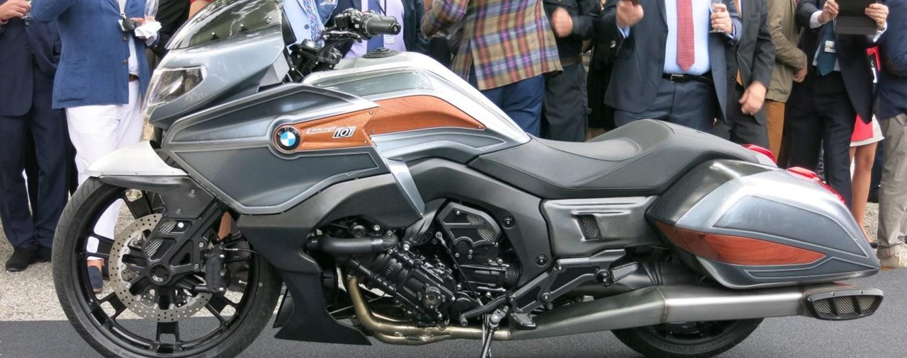 BMW Concept 101 Custombike
