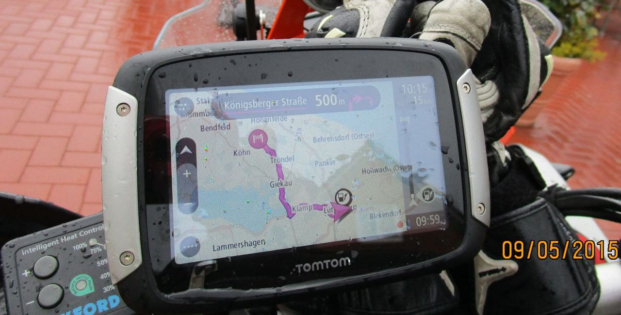 TomTom Rider 400 Erfahrungsbericht