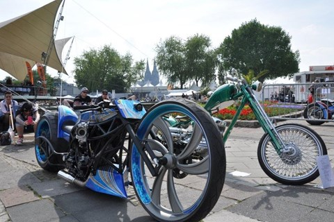HARLEY DOME COLOGNE an Pfingsten