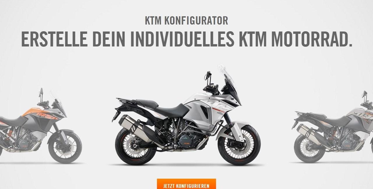 Neue KTM.com Webseite jetzt online