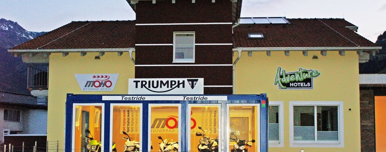 Triumph kooperiert mit MoHo 2015