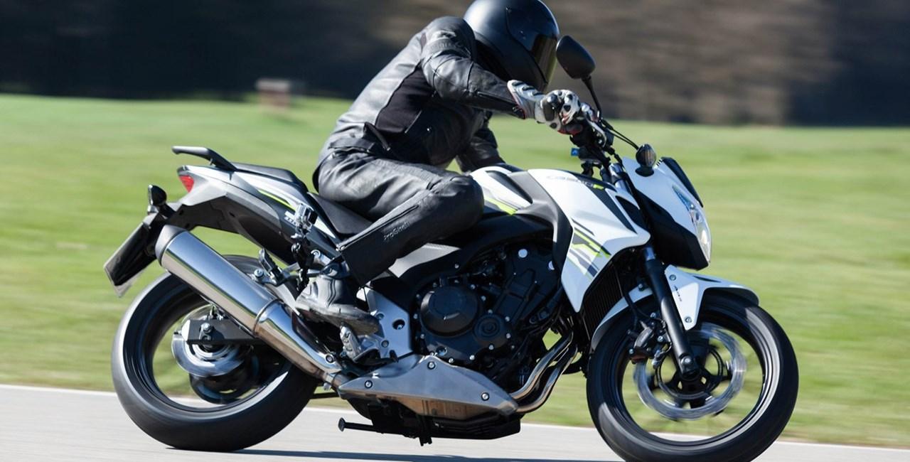 Honda CB500F Naked Bike Test