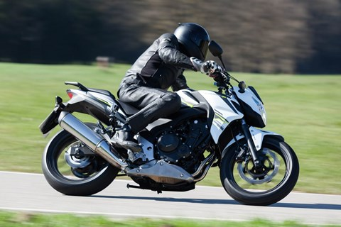 Honda CB500F Naked Bike Test