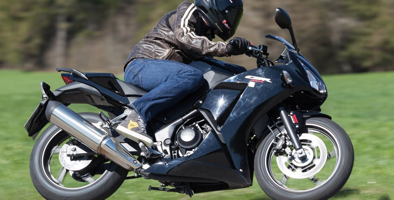 Honda CBR300R Supersport Test