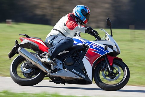 Honda CBR500R Supersport Test