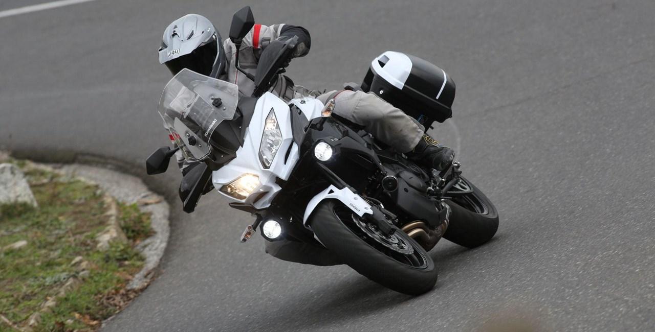 Kawasaki Versys 650 Touringpakete 2015
